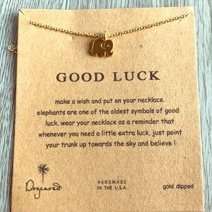 Good luck elephant necklace